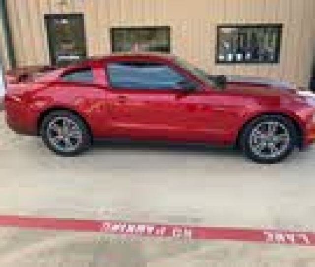 Ford Mustang V Premium Used Cars In Spring Tx