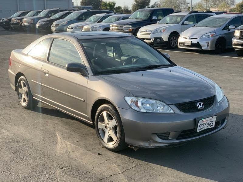 Used 2004 Honda Civic Coupe Ex For Sale With Photos Cargurus