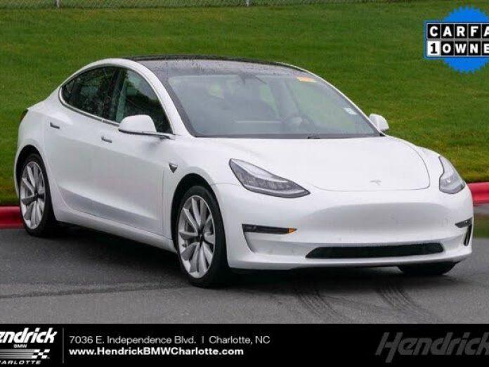 Used Tesla Model 3 For Sale In Greensboro Nc Cargurus
