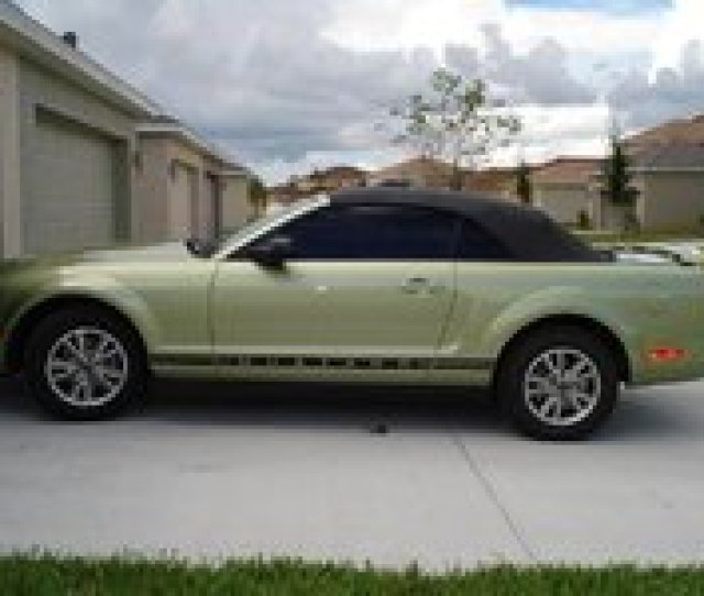 Smail Ford Greensburg: White Convertible Mustang