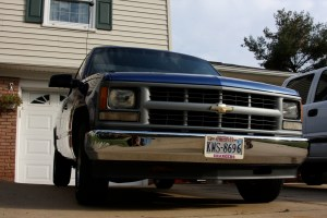 Chevrolet CK 1500 Questions  Replacing stock grille