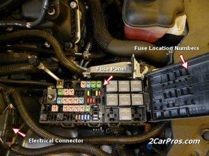 Dodge Caliber Questions  Dodge Caliber fuse box problems