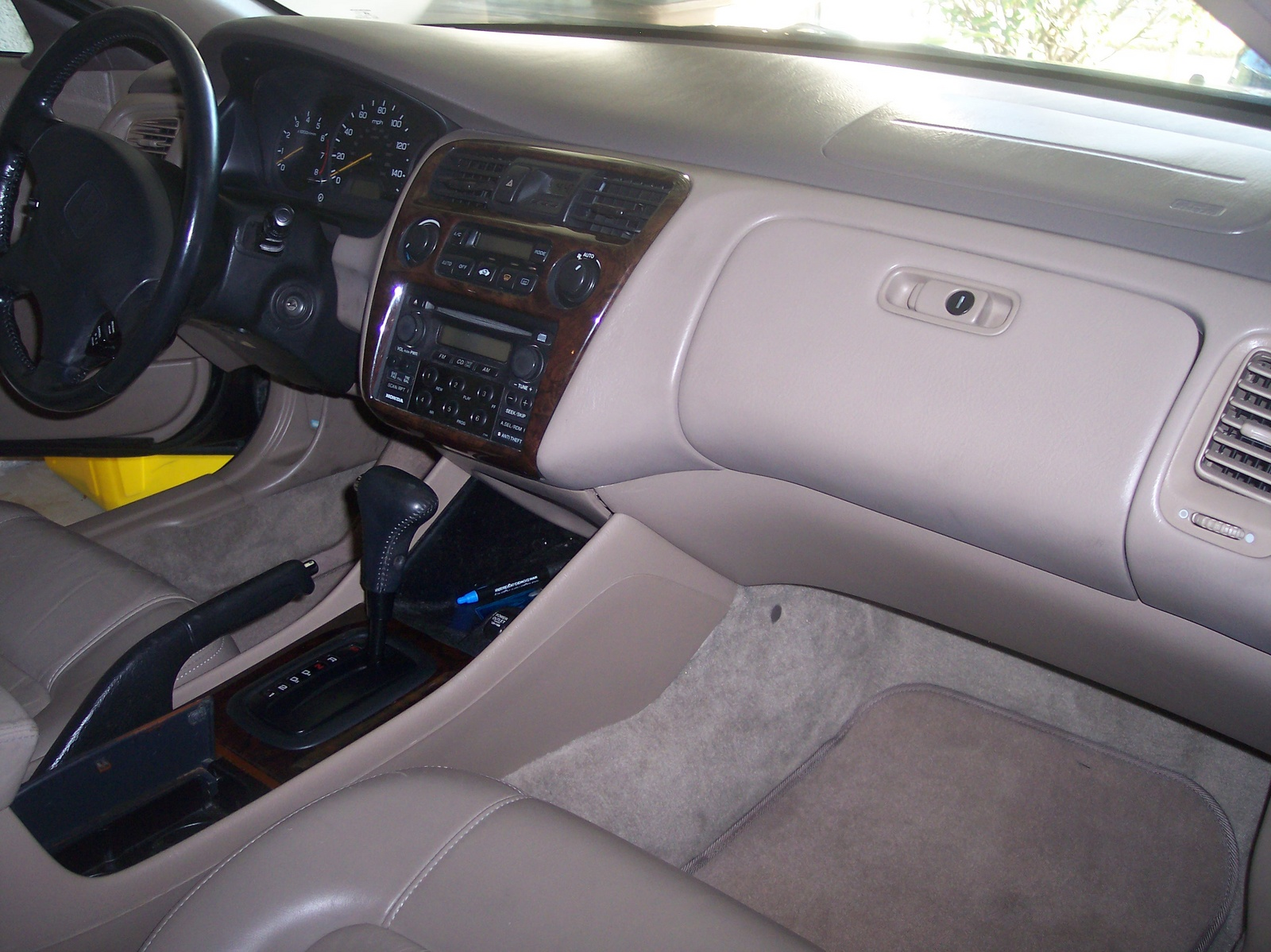 1991 Honda Inside Accord
