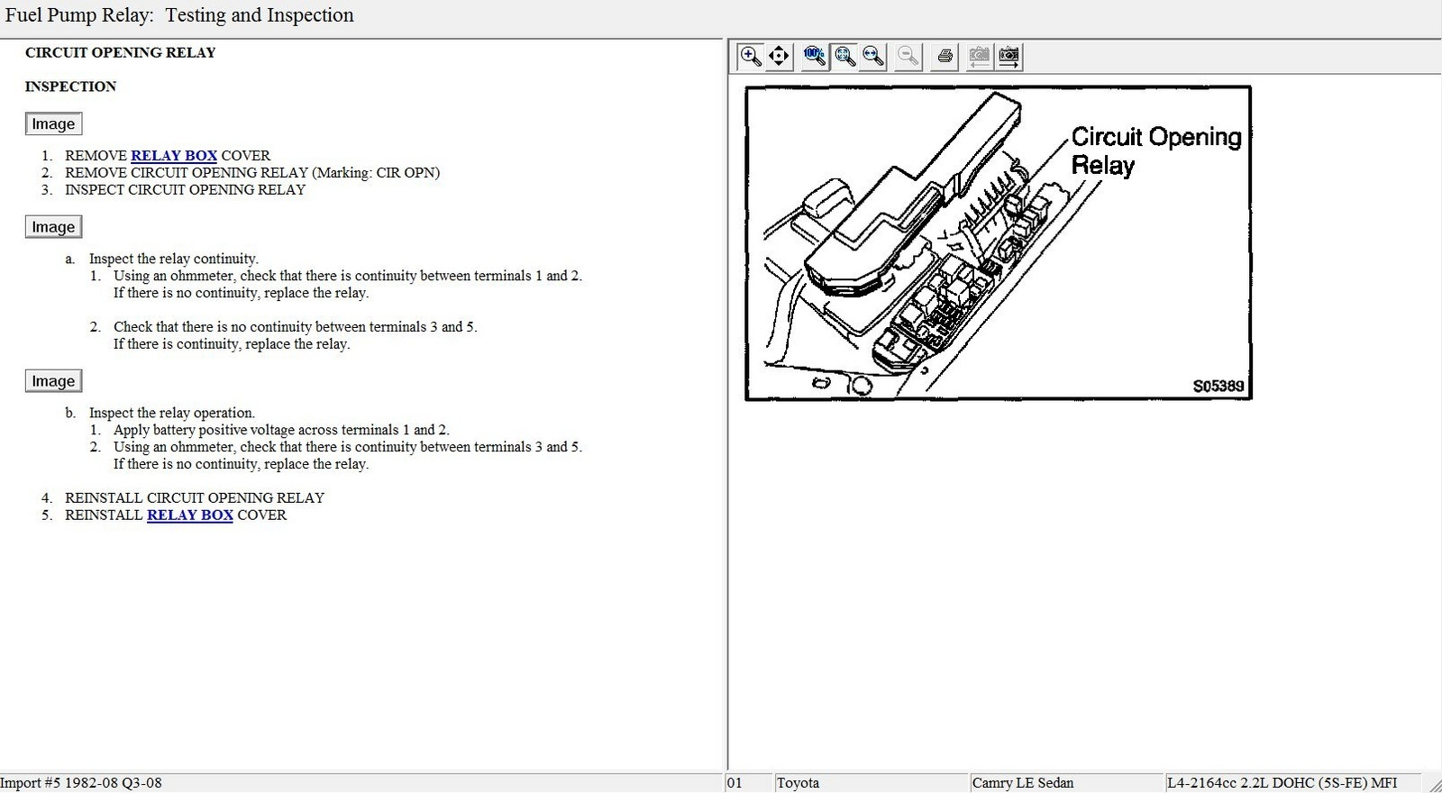 Pump Relay Location On 1996 Miata Electric Fuel Pump Wiring Diagram
