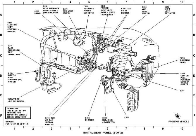 2003 ranger interior parts diagram  auto electrical wiring