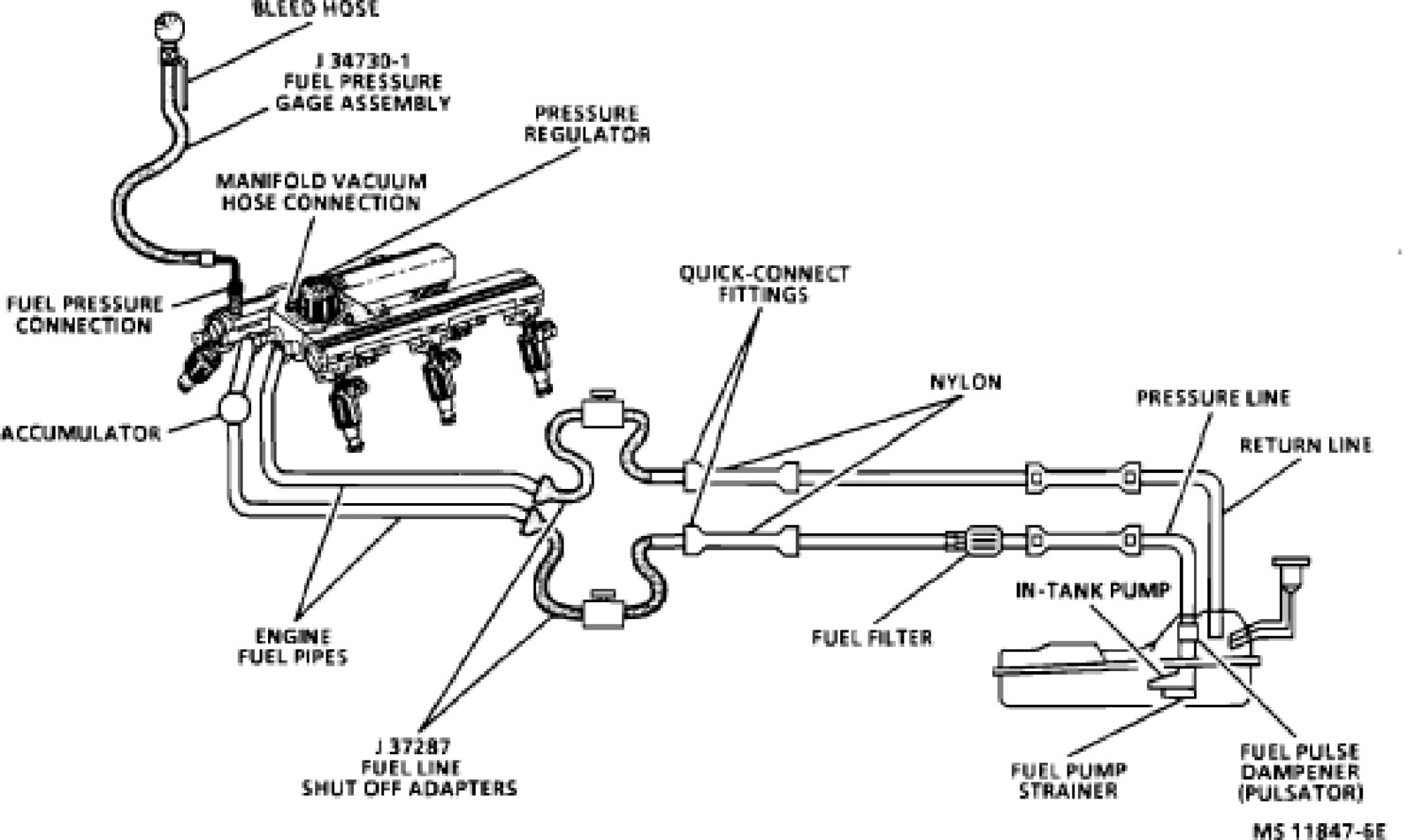 Chevy Silverado Fuel Line Diagram