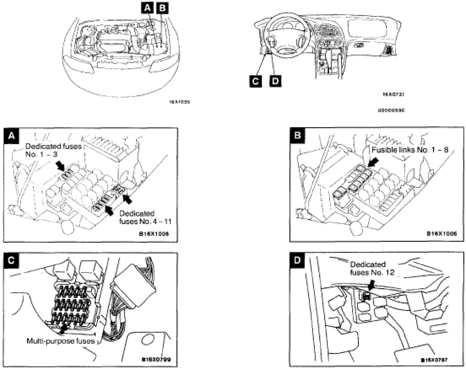 Toyota Corolla Radio Fuse Location