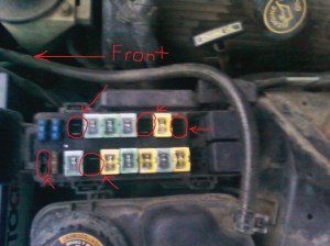 Ford Thunderbird Questions  What fuses are these?  CarGurus