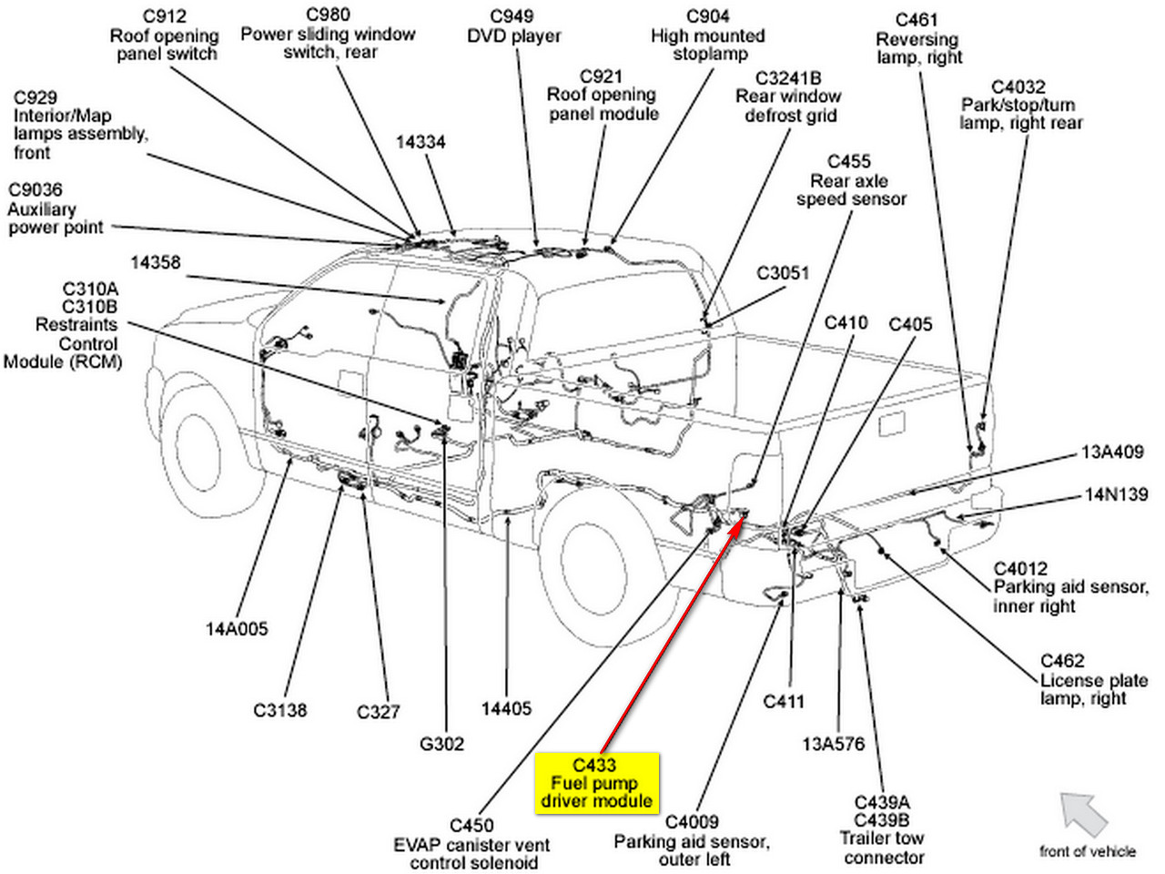 Safari Fuel Pump Wiring Harnes Diagram