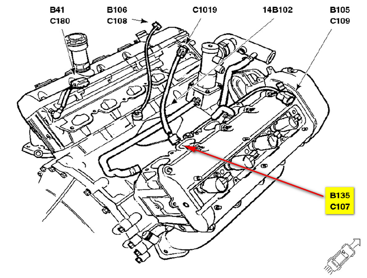 Lincoln L 3 9l Engine Vacuum Diagram