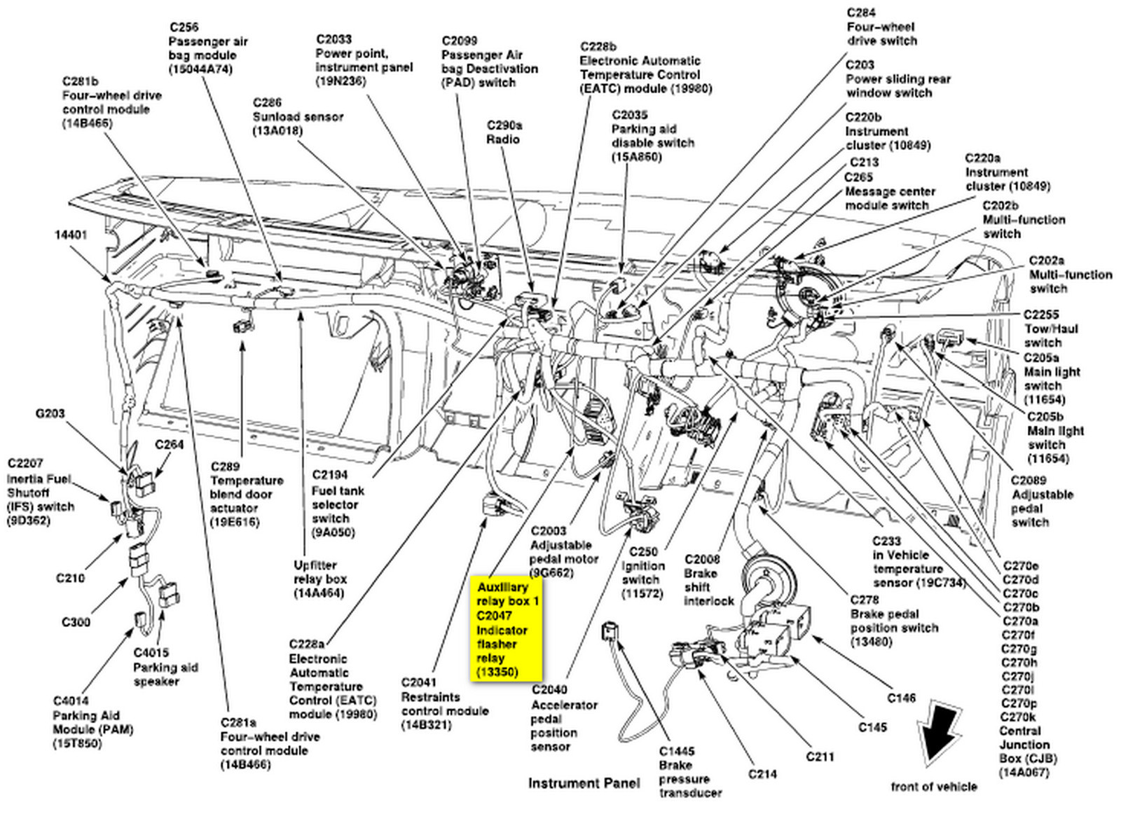 99 F150 Turn Signal Wiring Diagram