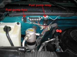 Chevrolet Suburban Questions  Where is the relay switch on fuel pump? 1990 Chevy Suburban