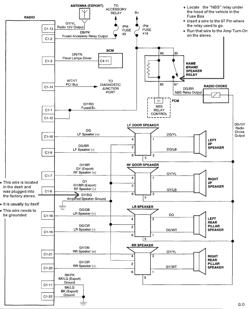 stereo wiring diagram for 05 dodge durango wiring diagrams Dodge Durango Fuse Schematic 05 dodge durango fuse box