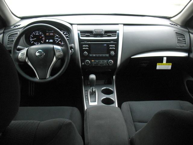 2005 Nissan Altima Black Interior