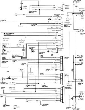 Chevrolet CK 10 Questions  Instrument panel lights not
