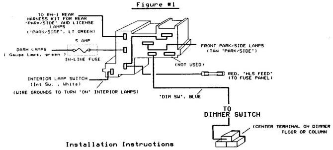 1984 chevy truck headlight wiring diagram  skoda octavia
