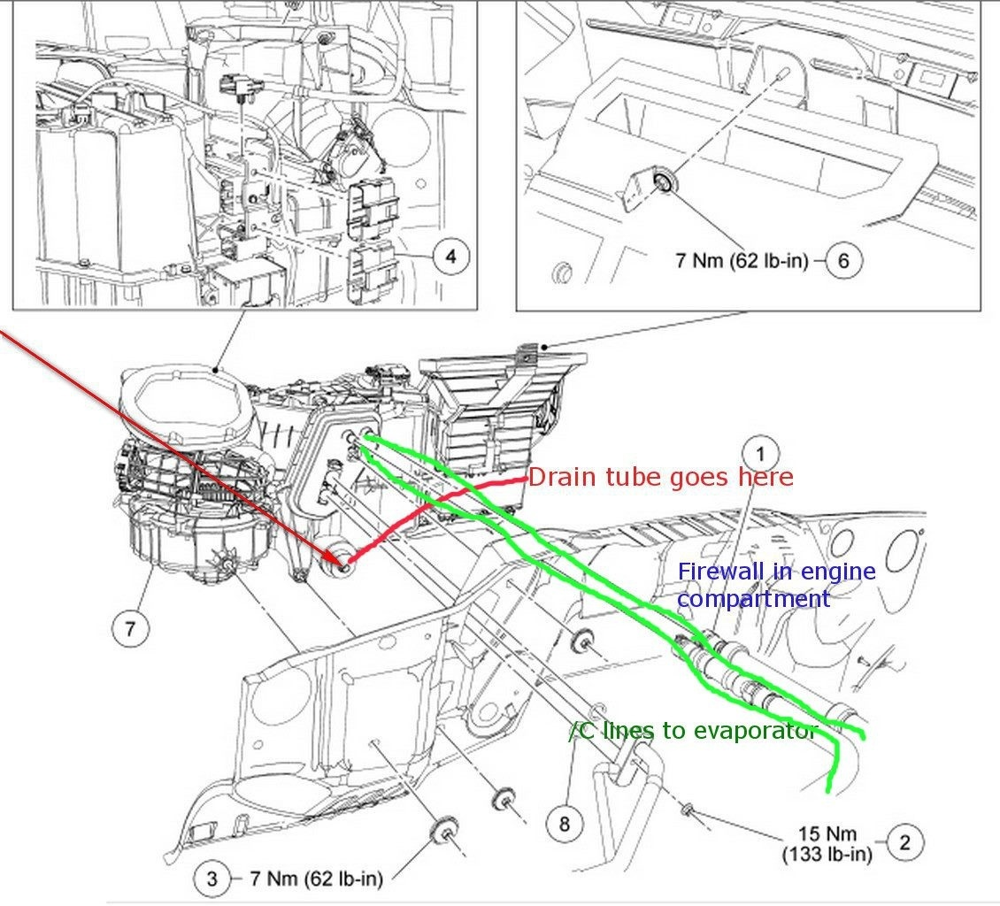 Ford F 150 Heater Blower Wiring Diagram