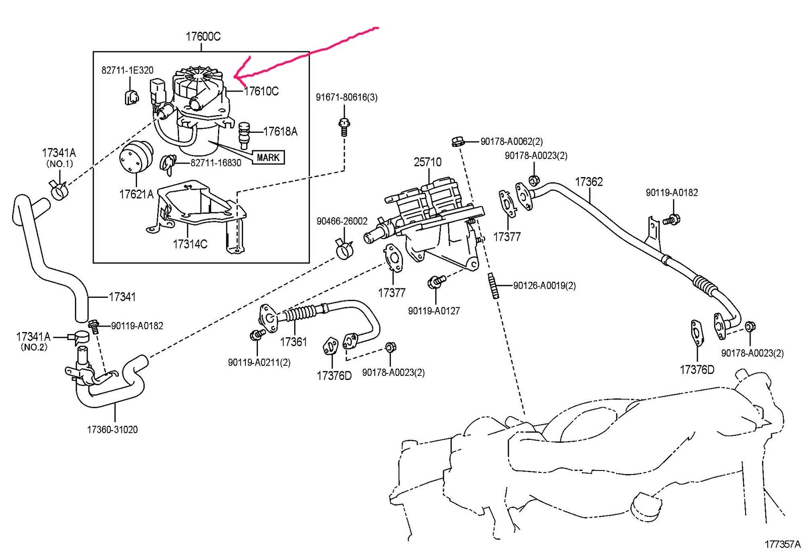 Chevy S10 Secondary Air Injection System Diagram