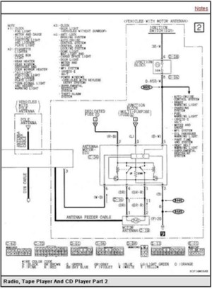 Mitsubishi Montero Sport Questions  Need factory stereo wiring diagram  CarGurus