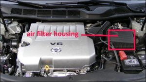 Toyota Avalon Questions  How do I change the engine air