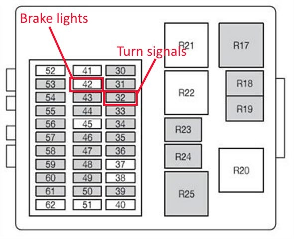 Toyota Corolla Brake Light Fuse | Americanwarmoms.org