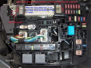 Toyota Corolla Questions  How do I change the alternator fuse in a 2010 Toyota corolla  CarGurus