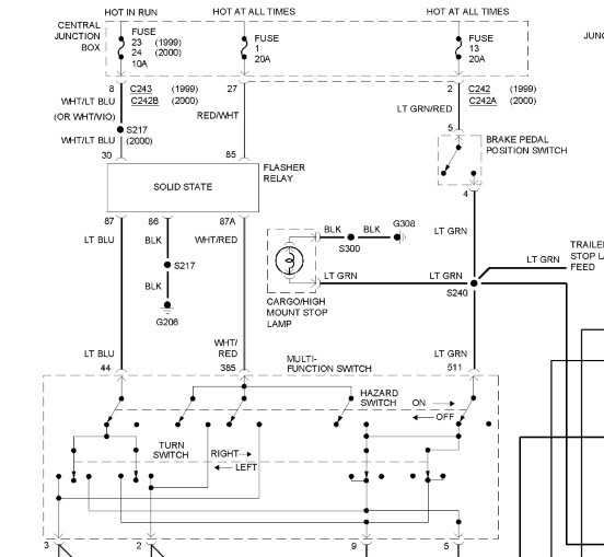 2012 ford f 350 tail light wiring diagram  center wiring