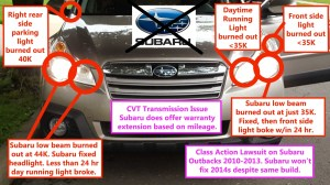 Subaru Outback Questions  2014 Outback  Constantly Burned Out Headlights & Lights  CarGurus