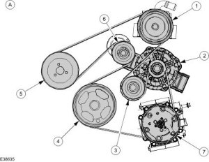 Ford Questions  Diagram for a 2003 Ford 13 rocam engine