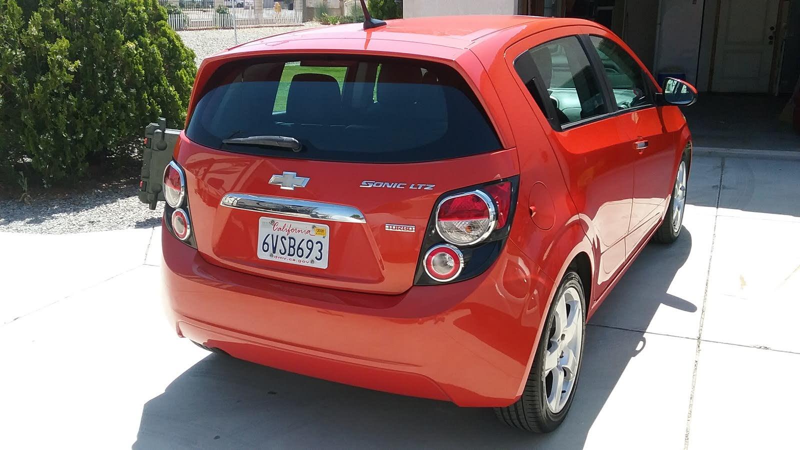 2012 Chevrolet Sonic Ltz