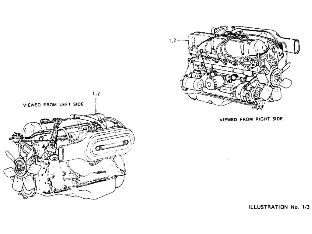 Datsun Z Engine L24 Amp L26