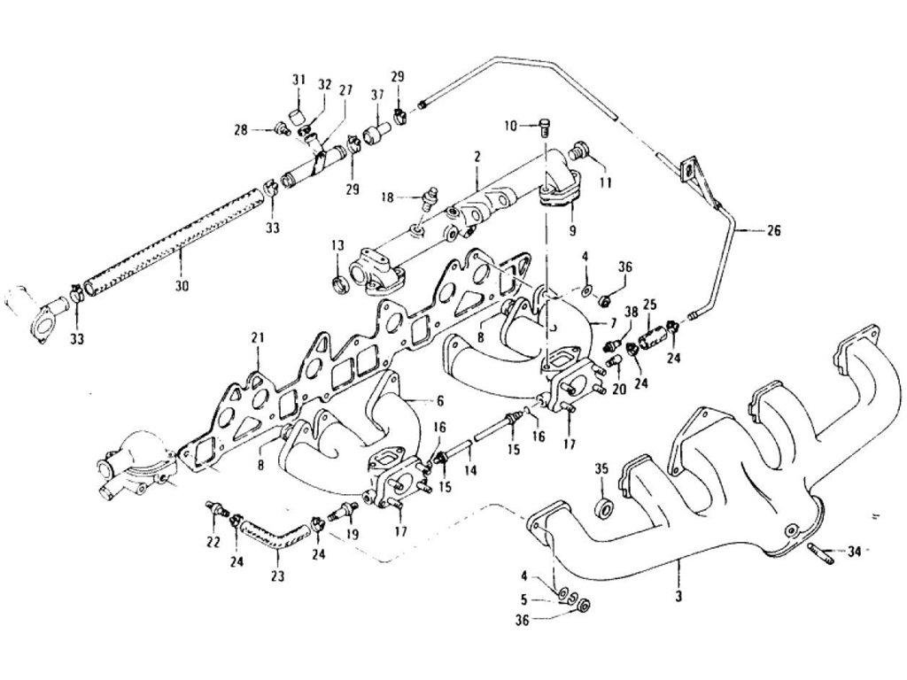 Datsun Z Manifold L24 L26 To Jun 72
