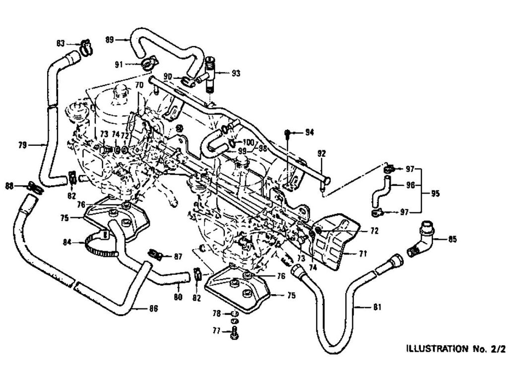 Datsun Z Carburetor L24 From Jul 72 To Jul 73