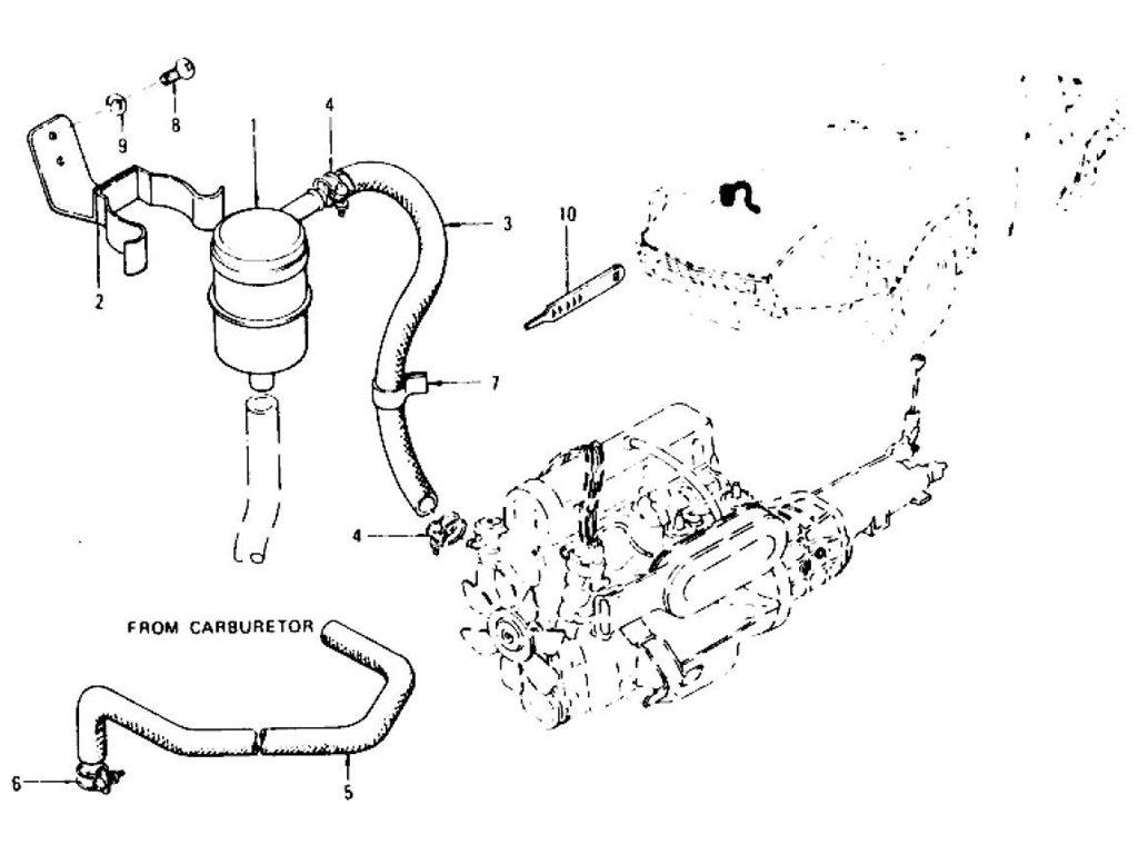 Datsun Z Fuel Filter Strainer Amp Hose L24 L26 To Nov 74