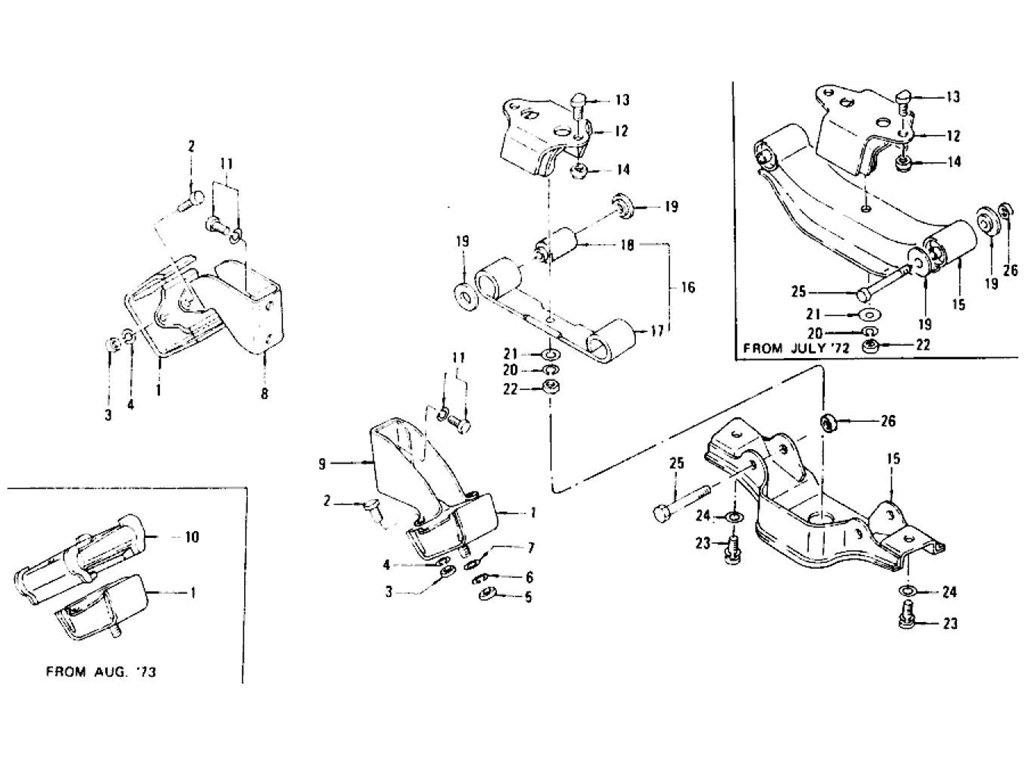 Datsun Z Engine Mounting Manual From C Hls30