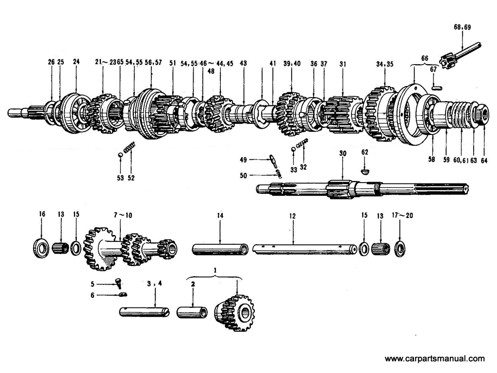 4 Speed Transmission Inside | Wiring Diagram Database