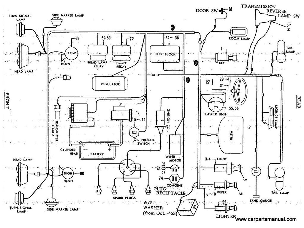 Datsun Bluebird 411 Electric Unit