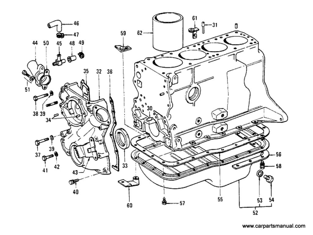 Datsun Bluebird 610 Cylinder Block L18