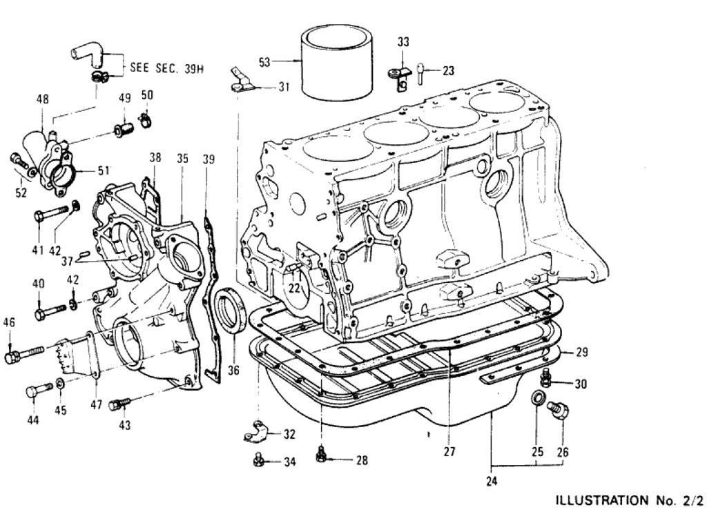 Datsun Pickup 620 Cylinder Block L18