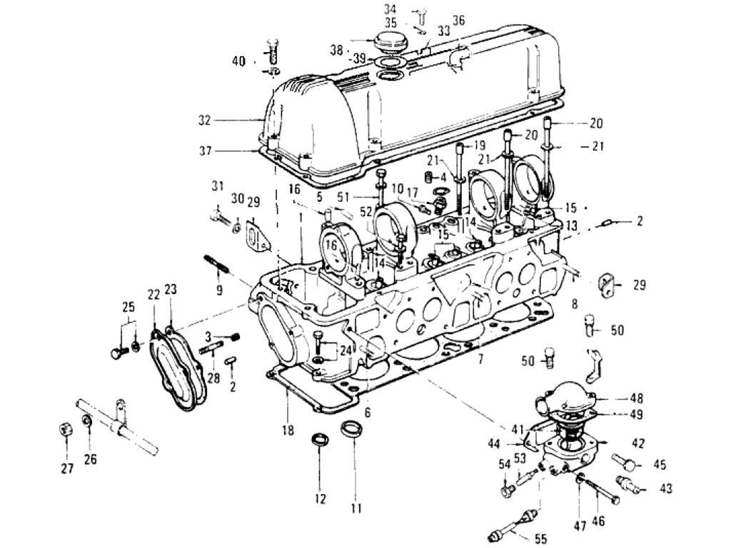 Datsun Pickup 620 Cylinder Head L18