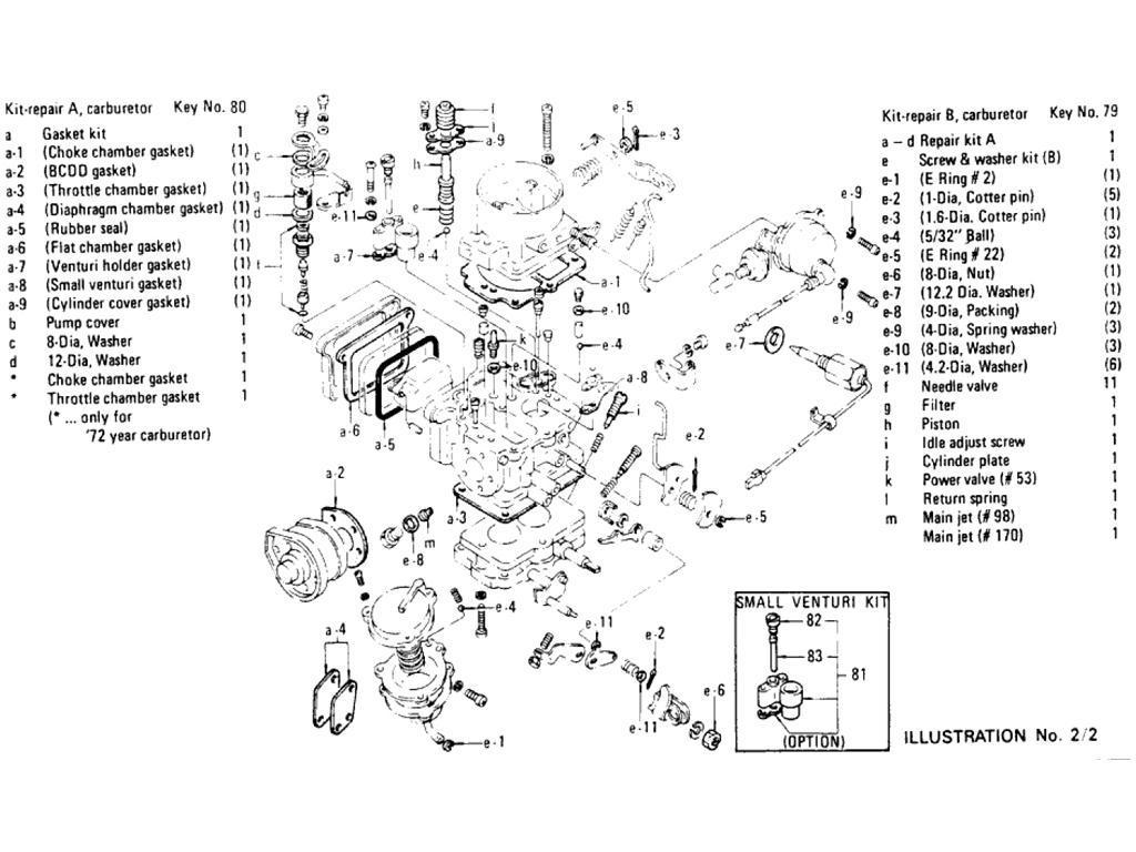 Datsun Pickup 620 Carburetor L18