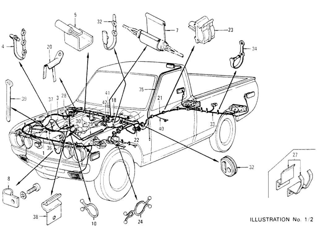 Datsun Pickup 620 Wiring Index
