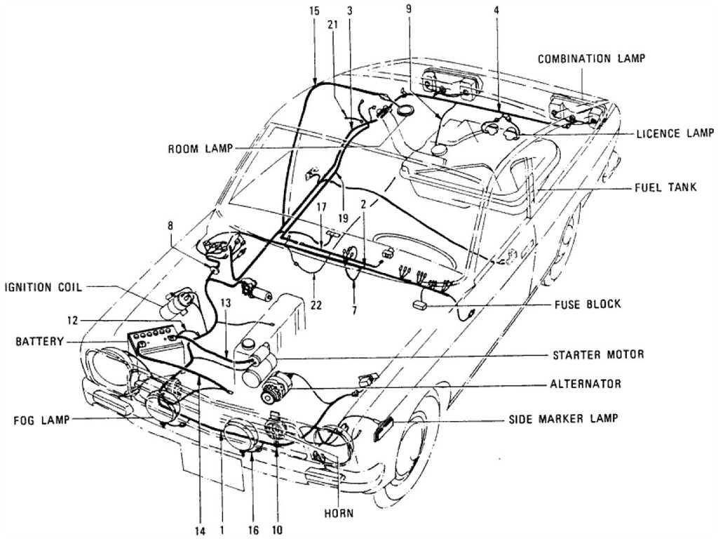 Datsun Wiring Diagram