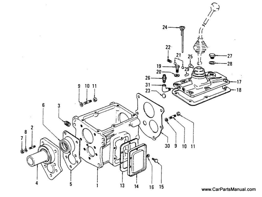 Nissan Patrol 60 Transmission Case