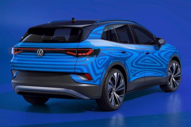 Volkswagen ID.4 Volkswagen rear OEM