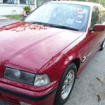 Newly Painted Imola Red E36 318i