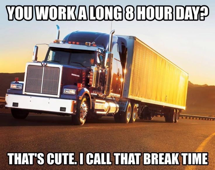 Bigrigs Truck Driver S Life In A Nutshell