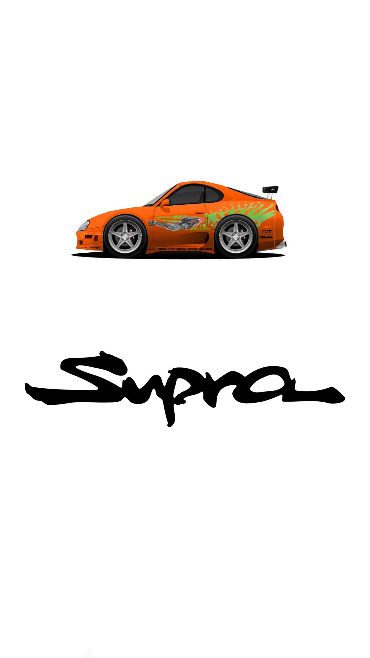 F Amp F Toyota Supra