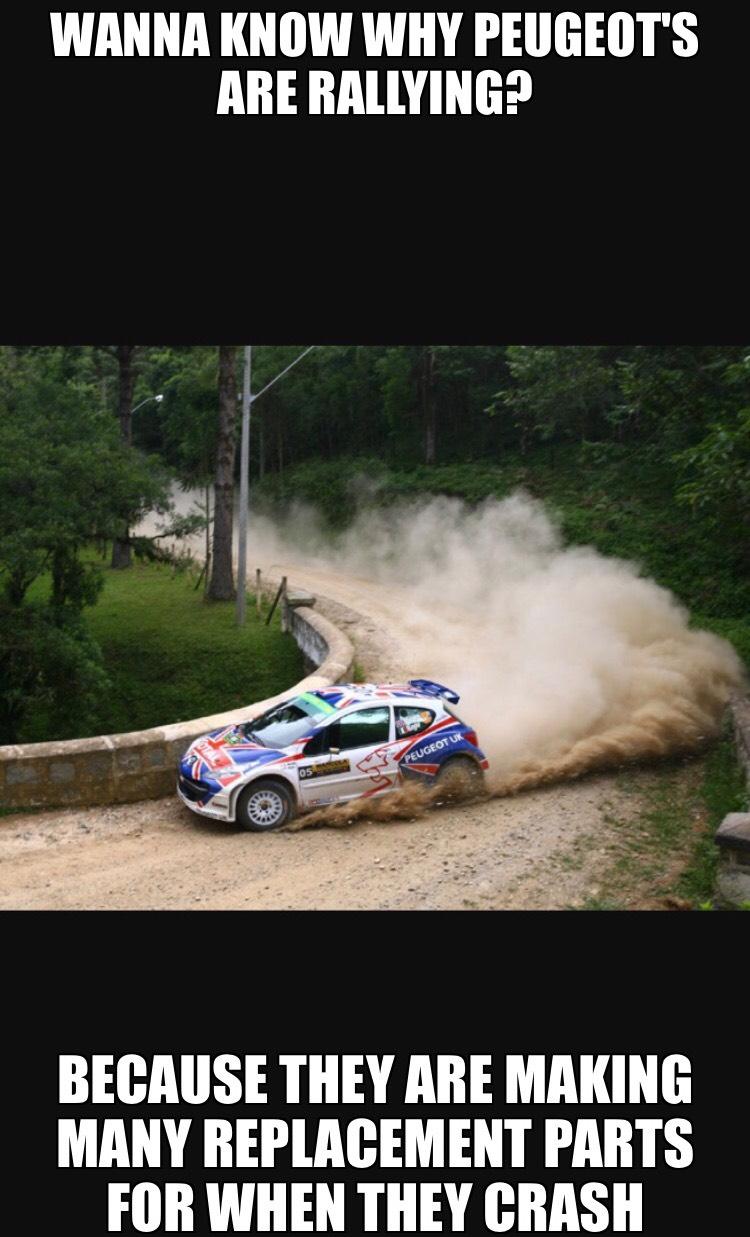 No Offense Peugeot Drivers Ctom