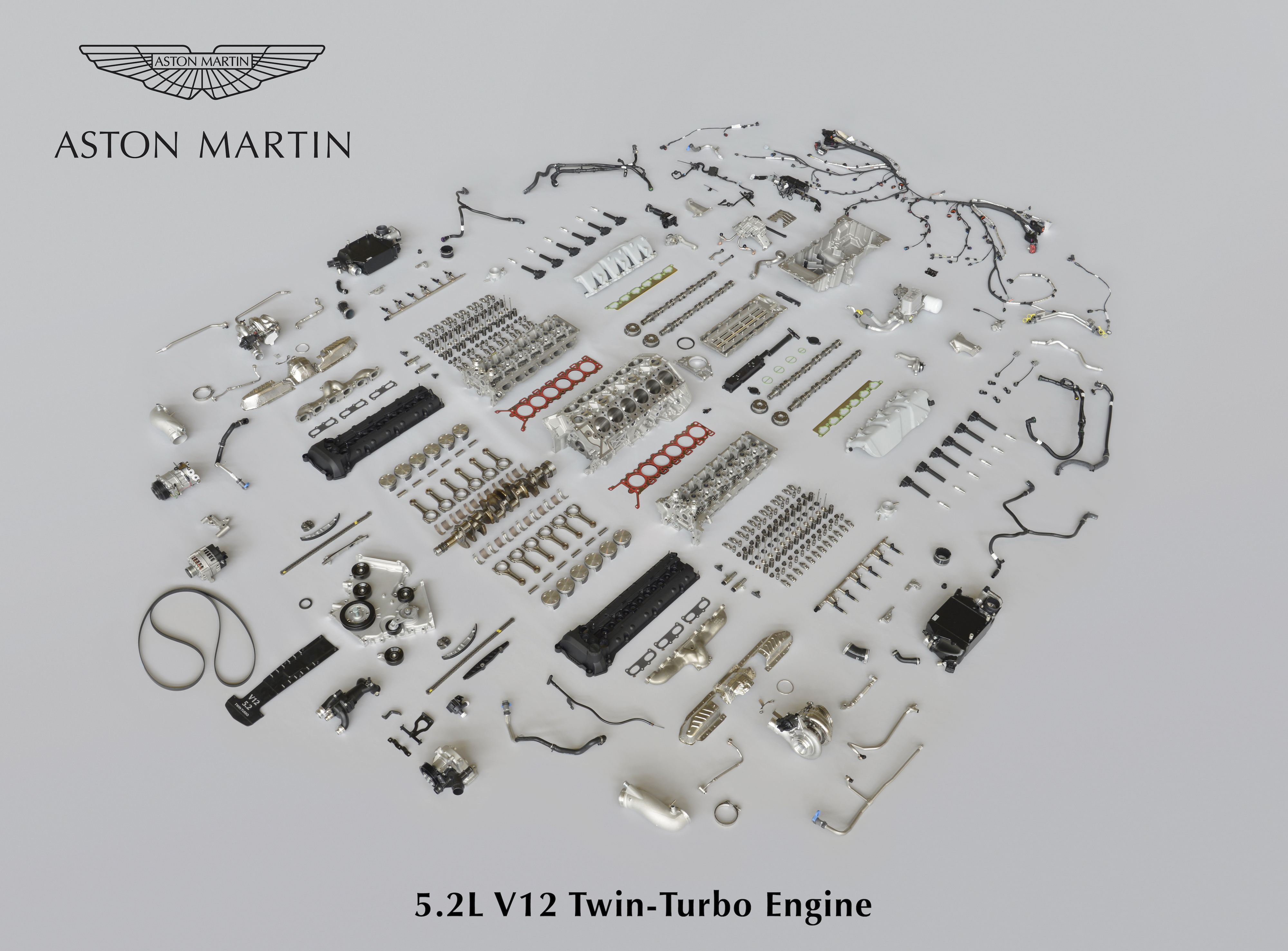 This Is What Aston Martin S New V12 Looks Like Before It S Put Together